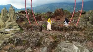 Bekas Galian C Disulap Jadi Geowisata Gunung Guntur Garut