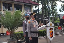 Apel Siaga Bencana Alam Tahun 2021 di Pimpin Kapolres Garut Polda Jabar
